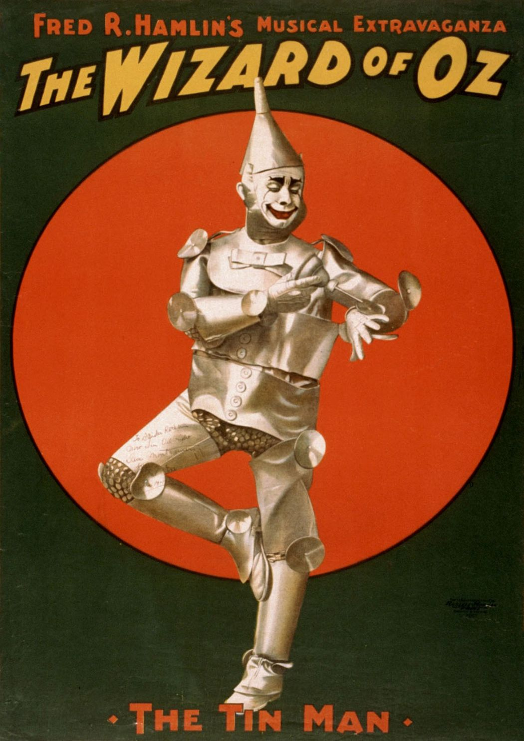 The Tin Man From the Wizard of Oz. Vintage Film/Movie/Musical Print/Poster. Sizes: A4/A3/A2/A1 (002818)